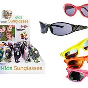 Other - Party Pack of 8 Kids Sunglasses 4 Girl, 4 Boy pair